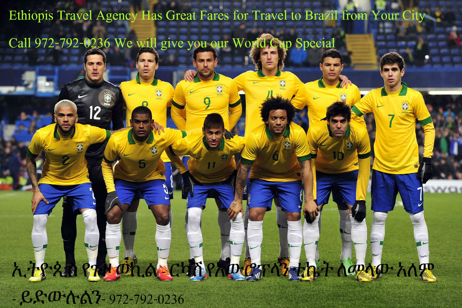 Brazil, Argentina and Latin America Specials from Ethiopis
