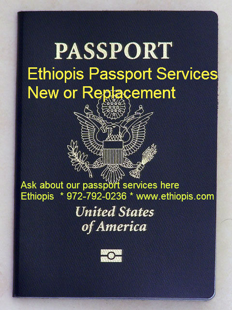 Passport Renewal or New Passport የፓስፖርት አገልግሎት